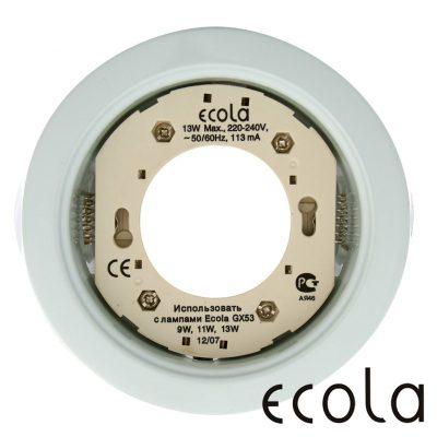 светильник Ecola GX53 белый